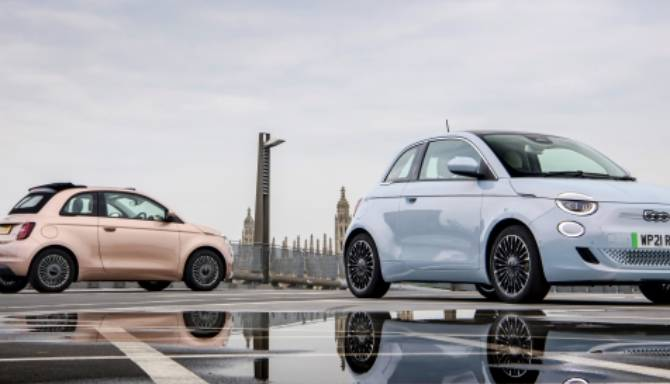 New Fiat 500 awarded Best Electric Car at the inaugural Marie Claire UK Sustainability Awards