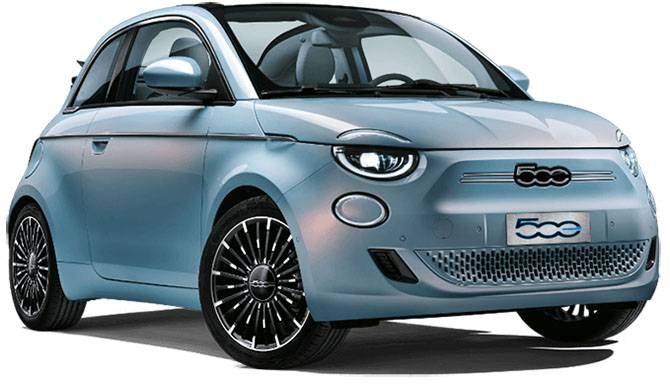 All-Electric New Fiat 500 Hatchback