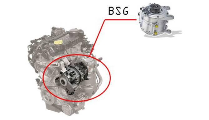 Fiat Hybrid BSG