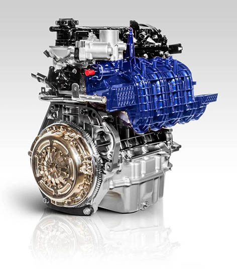 Fiat hybrid engine