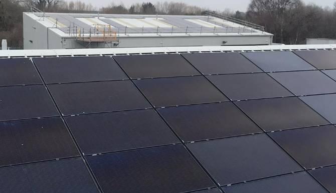 Solar Panels both roofs