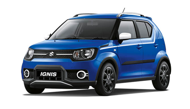 Suzuki Ignis Hybrid adventurer