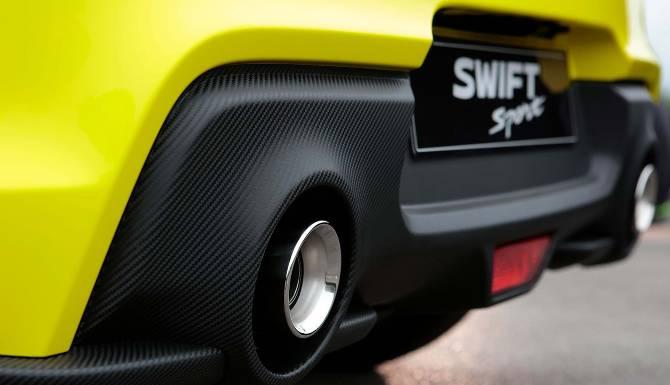 Suzuki swift sports exhuast