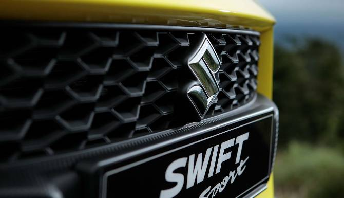 Suzuki swift sports grille