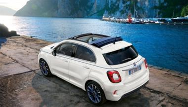 Fiat 500X Dolcevita soft top to enter UK market