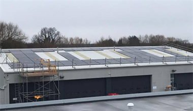 TJ Vickers Telford are looking to the future with Solar Panel Installation
